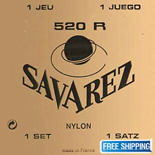 Savarez 520R Guitar String Traditional Acoustic Classical Nylon High Tension Set