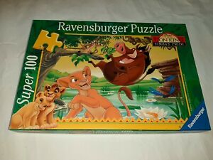 Super 100 Pieces Puzzle - Am Water Hole - Ravensburger - 100% Complete