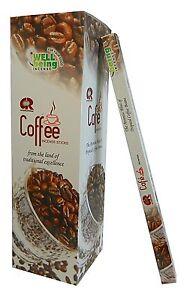 200 Coffee Räucherstäbchen G.R. Kaffee Duft Dekoration Café Aroma Indien