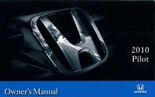 2010 Honda Pilot Owners Manual User Guide Reference Operator Book Fuses Fluids