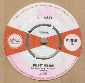 DELROY WILSON**GET READY**ROCKSTEADY**THE ISLAND LABEL**LISTEN TO IT