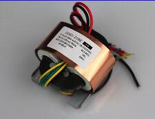 30Va Hifi copper R-core transformer Output 0-220V 0-14V for tube preamp L5-3