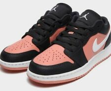 Nike Air Jordan 1 Low Black Pink Quartz GS Size UK 5 / US 5.5Y ORDER CONFIRMED