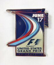 2007 Formula-1 Indianapolis United States Grand Prix Event Pin Indy F-1 IMS