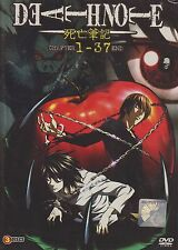Death Note The Complete Series DVD (Chapter 1-37 end) with English Dubbed