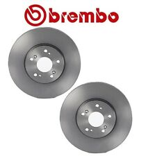 Brembo Set of 2 Front Disc Brake Rotors For Acura TL MDX TSX Honda Acoord Pilot