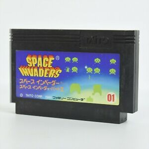 Famicom SPACE INVADERS Cartridge Only Nintendo fc