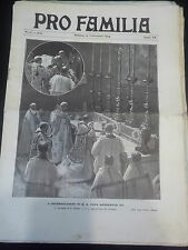 """ PRO FAMILA "" 13 SETTEMBRE 1914 WWI PRIMA GUERRA MONDIALE N°37 PAPA  IK-10-61"
