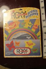 ROXY Girls Hawaii Quicksilver Vintage Surfing Decal Cosmic STICKER Sheet