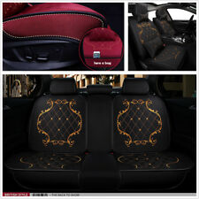 High Quality Luxury Linen England Lace Style Car Seat Covers Protector Cushion