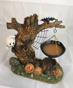 YANKEE CANDLE HALLOWEEN HANGING TART WARMER WAX MELT GHOST TREE PUMPKINS BAT WEB