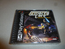 FACTORY SEALED PLAYSTATION PS1 VIDEO GAME AMORED CORE MASTER OF ARENA AGETEC PS2