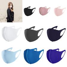 Maske elastische Schutzmaske Mundschutz Stoffmaske Behelfsmaske Elastan Spandex