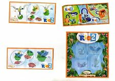 LOT 4 KINDER SURPRISE  MAGIC RIO2  FROM ARGENTINA