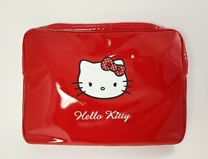 Envoltura Puerto PC Portátil/Tableta En Roja Hello Kitty White Face Talla L