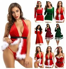 Women Feather Trim Bodycon Mini Dress Club Bodysuit Christmas Party Dress