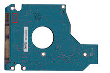 Controladora PCB toshiba mk2565gsx g002641a unidades de disco duro electrónica
