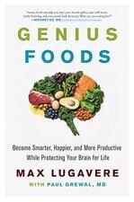 Genius aliments : Become Smarter, protection votre cerveau for life par Max