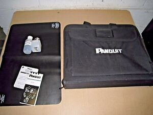 PANDUIT OPTICAM TERMINATION TOOL CARRY CASE W/ A FEW EXTRAS