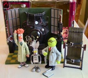 2003 The Muppet Show 25 Years - MUPPET LABS Play Set Beaker & Mr Bunsen Honeydew