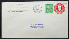 US Uprated Postal Stationery Cover Houston Washington Stamp GS ZuF Brief (H-7755