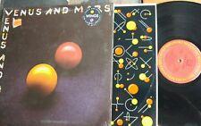Wings Venus And Mars Vinyl LP 1975 Rock Sticker hard inner shrink unopened GF
