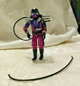 1987 Vintage GI Joe Cobra Action Figure TECHNO-VIPER with Accessories