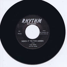 Jackie Gotroe-Rock it to the moon/Soulevées En r 'n' R (Rockabilly repro)