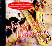 SWING INTO CHRISTMAS: TIMELESS HOLIDAY CLASSICS COLLECTION (2001, CD) VERY RARE!