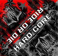 HARDCORE TEETH SKULL BIKER BANDANA