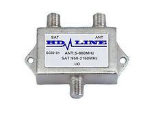 HD-LINE Coupleur Découpleur TV SATELLITE - INTERIEUR / EXTERIEUR - Antenne TNT