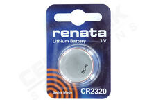 1 Renata CR2320 2320 watch battery