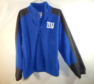 New York Giants NFL Football Fleece Sweater Reebok Size YOUTH LARGE L 16 / 18