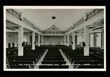 Politics London World Economic Conference Hall Tuck#3903 RP PPC unused 1933