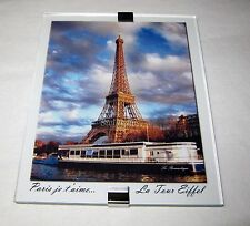 Paris France Eiffel Tower Souvenir Refrigerator Magnet - Made In France