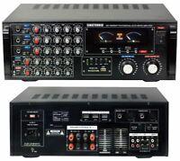 Singtronic KA-1000DSP Professional 1700W Mixing Amplifier; Optical & Bluetooth