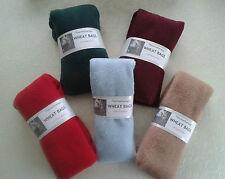 Multi Fleece Unscented Microwave Wheat Bags Raynaud Arthritis Backache