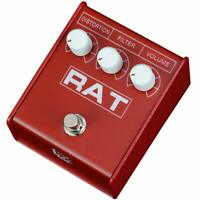 IKEBE ORIGINAL MODEL NEW Distortion Guitar Effects Pedal Pro-co RAT 2 RED