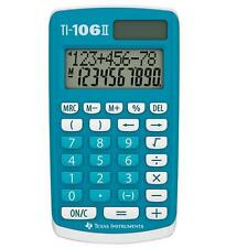 Texas Instruments TI106II Basic Solar School Student Homework Pocket Calculator