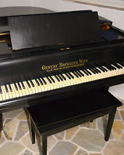 GUSTAV HOFBAUER Flügel Stutzflügel Grand Piano Pianofort Klavier Salonflügel