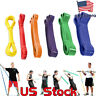 Heavy Duty Resistance Band Loop Power Gym Fitness Yoga Exercise Workout Pilates