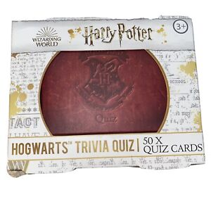 HARRY POTTER Hogwarts Trivia Quiz Wizarding World Test Your Knowledge NEW