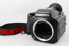 【Exc+++++】Pentax 645 Medium Format SLR Film Body W/220 film back from Japan