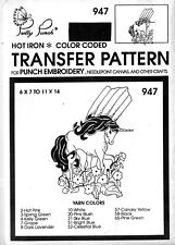 Pretty Punch Iron Transfer Patterns Punch Embroidery 947 Unicorn