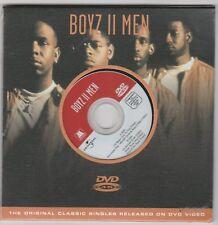 Boyz II Men (2004) Factory Sealed NEW 5 Track DVD Single