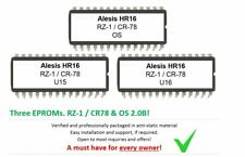 Alesis HR16 / HR16B - Soundchip Upgrade with Casio RZ-1 & Roland CR78 sounds
