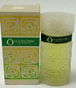 Ô De Lancôme by Lancôme 3.3 oz  Eau de Toilette Splash VINTAGE VERSION 1987-DB..