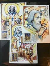 Armenia - St.Nerses Shnorali - Vatican Mc Set Of 3 Maxi Cards
