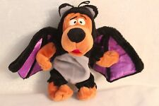 """Scooby-Doo 9"""" Bean Bag Plush Toy Doll dressed as a bat Halloween 2000"""