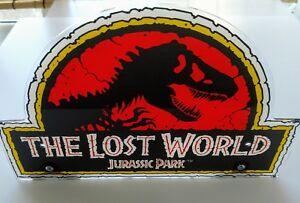 Sega Lost World Jurassic Park pinball machine topper